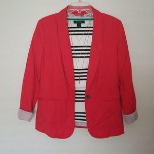 Old Navy Red/Pink Blazer